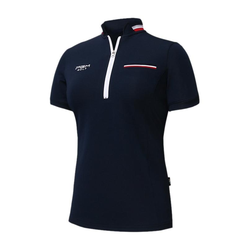 2615434a4f Compre Camiseta De Golf PGM Para Mujer Camiseta De Golf Para Mujer Camiseta  De Manga Corta Para Verano Camiseta Transpirable Para Polo Cómoda A  42.19  Del ...
