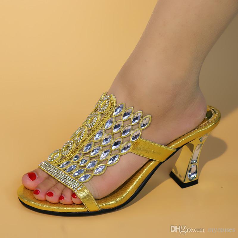 Neue Ankunft Sommer Damen Schuhe Frauen Party Schuhe Niedrigen Ferse Frau Slipper Schuhe Große Größe 42 Designer Schuhe Frauen Luxus 2018