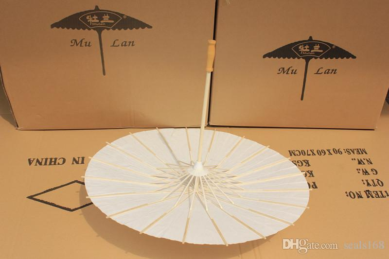 Bridal Wedding Carta Ombrelli Ombrelloni a mano Pianura Cinese Minicraft Ombrello l'attaccatura Diametro Ornamenti: 20-30-40-60cm HH7-993