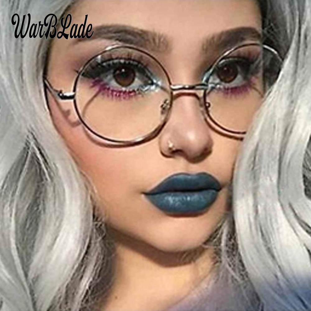 0888c2f3c79 2019 2018 Hot Sell Round Glasses Men Women s Sun Glasses Metal Frame Eyewear  Vintage Female Optics Eyeglasses Clear Lens Transparent From Watercup