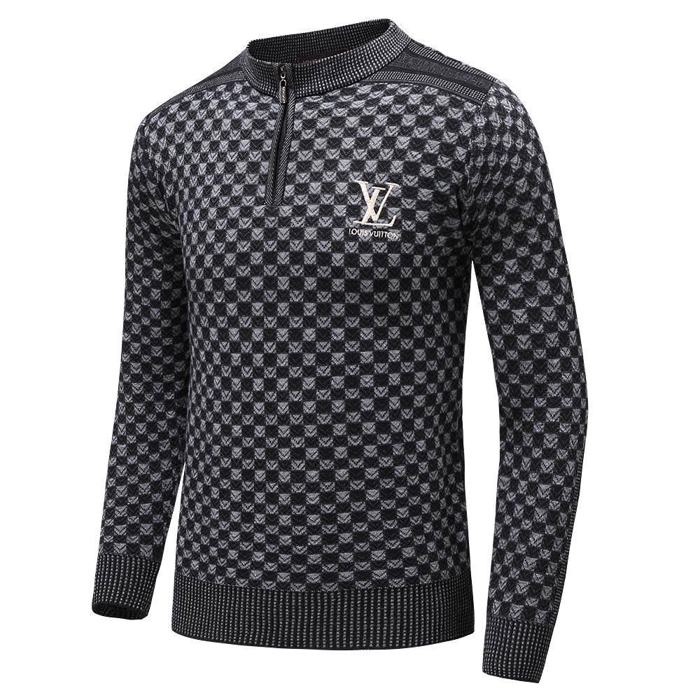 Louis Vuitton Fashion Europe And the United States Brand Man Sweater  Cashmere 85% Sweater Online with $83.84/Piece on Qjiansheng\u0027s Store