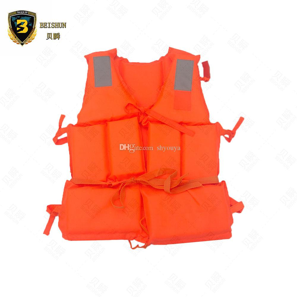 with Life Whistle Boat Work Outdoor Drifting Adult Life-saving Vest Waterproof Adjustable Reflective Jacket Safety Vest Safety & Survival