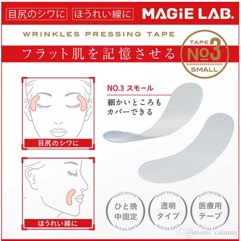 Ultradünne Nasolabial-Falten-Stirnlinien Anti-Aging-Anti-Falten-Gesichtsmaske Facial Lifting Sticker zwinkert Klebeband Hautpflege