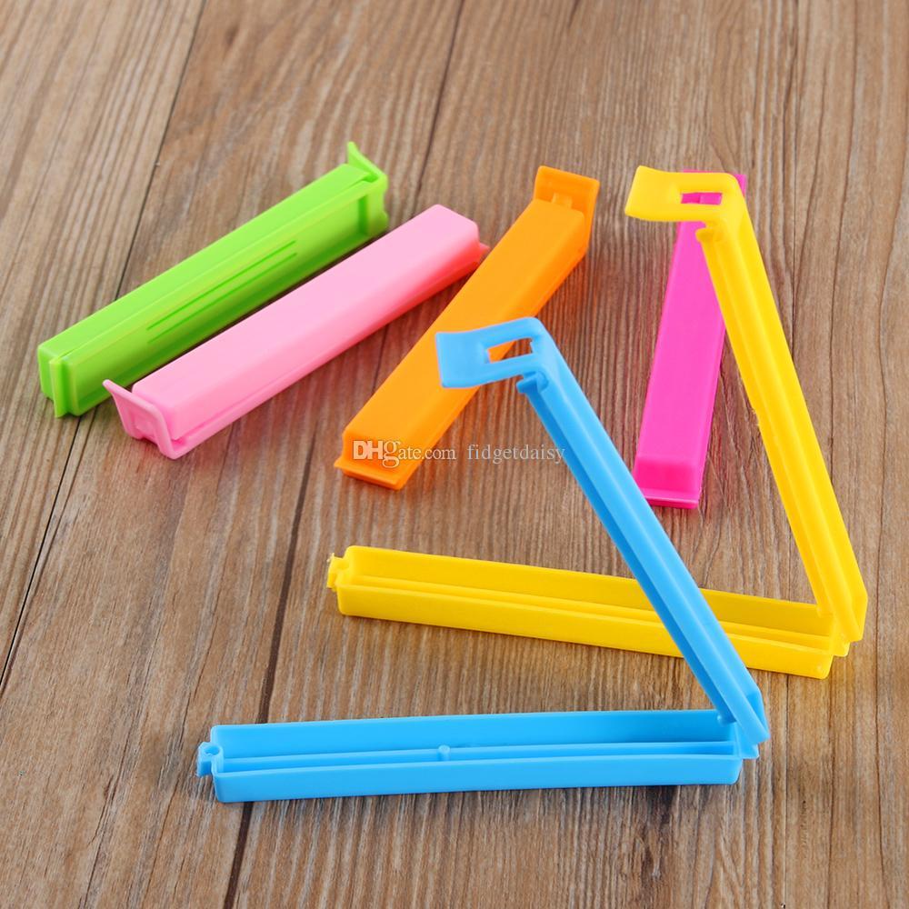 11 * 1,5 * 1,2 CM Große Lebensmittel Snack Tasche Lagerung Sealing Clips, Dichtung Clamp Plastiktüten Ziplock Clip Hause Lebensmittel Lagerung Helfer Werkzeug Heißer