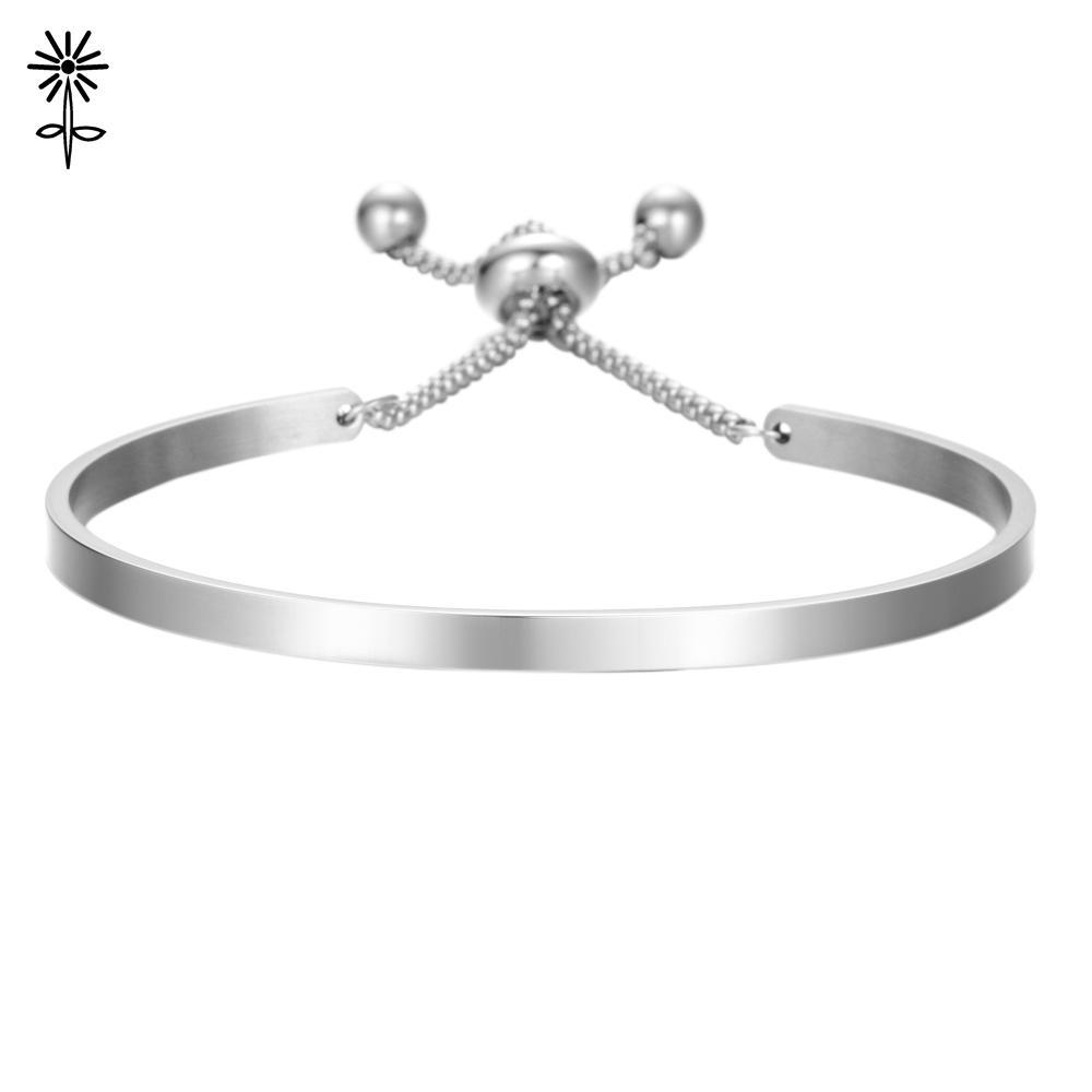 fe9e17109e 2019 316 Stainless Steel Cuff Bangle Laser Bracelet Custom Logo Opened Bracelet  Blanks Band For Lovers Couple From Kwind, $28.27   DHgate.Com