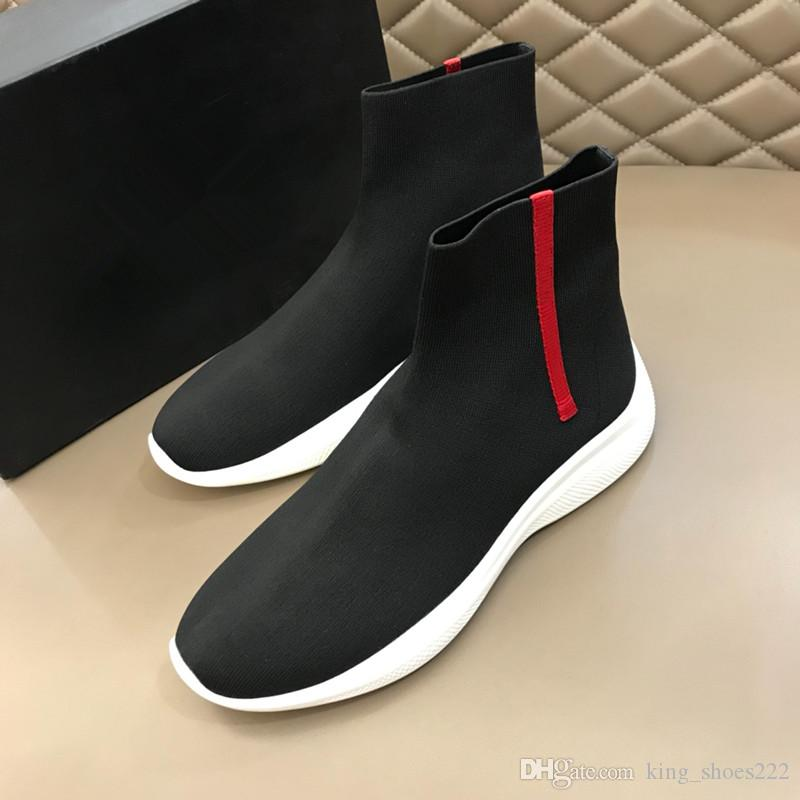 Mesh Zapatos Fabric Compre Negro De On Hombre Vamp Slip 8FFqYw