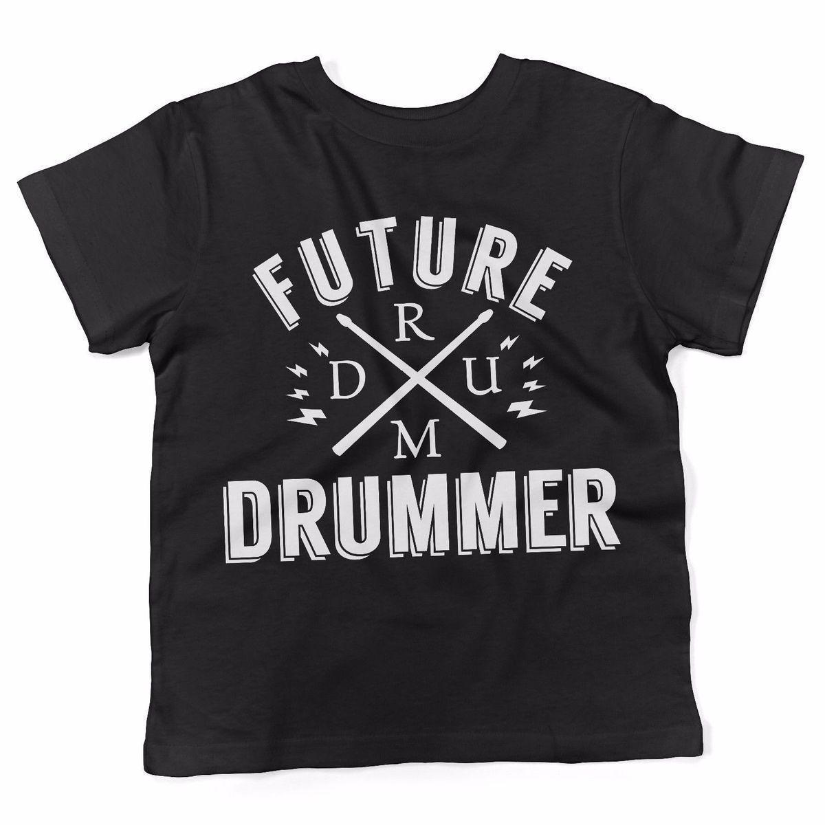 02e0ca193 Baby T Shirt Future Drummer Maglietta Abbigliamento Neonato NERO Hot New  2018 Summer Fashion T Shirts Trend T Shirts With Sayings Awesome T Shirt  Designs ...