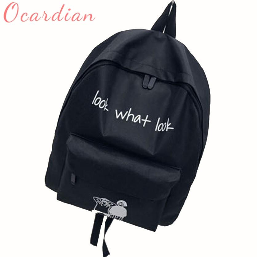 40e4a14ade6 Ocardian 2017 Men Male Canvas Backpack College Student School Backpack Bags  For Teenagers Vintage Casual Rucksack Sept22 Dog Backpack Backpacks For  Women ...