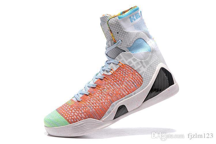 afc97efd449b New 2018 Wholesale Kobe KB 9 IX Elite Black Mamba Blackout Christmas High  Top Men Casual Sport Shoes Training Sneakers Size EUR 40 46 Shoes For Women  Dansko ...