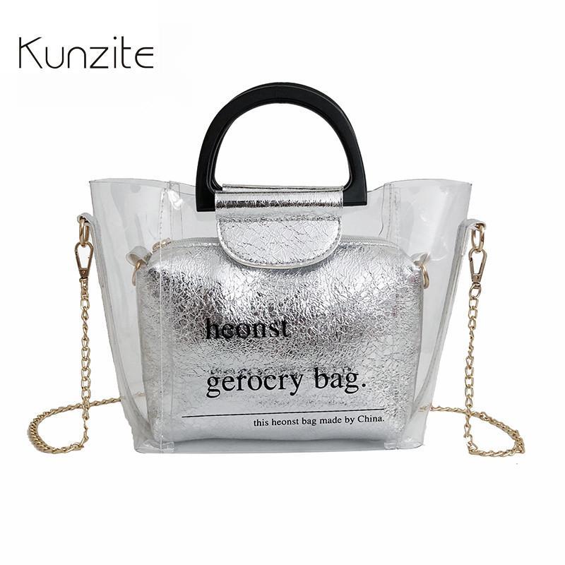 0b541480b0e2 Kunzite Mini Bags Chain Ladies Shoulder Purse And Handbags PVC Leather  Messenger Bag Clutch Bags Designer Women Shoulder Bag Sac Cheap Designer  Handbags ...