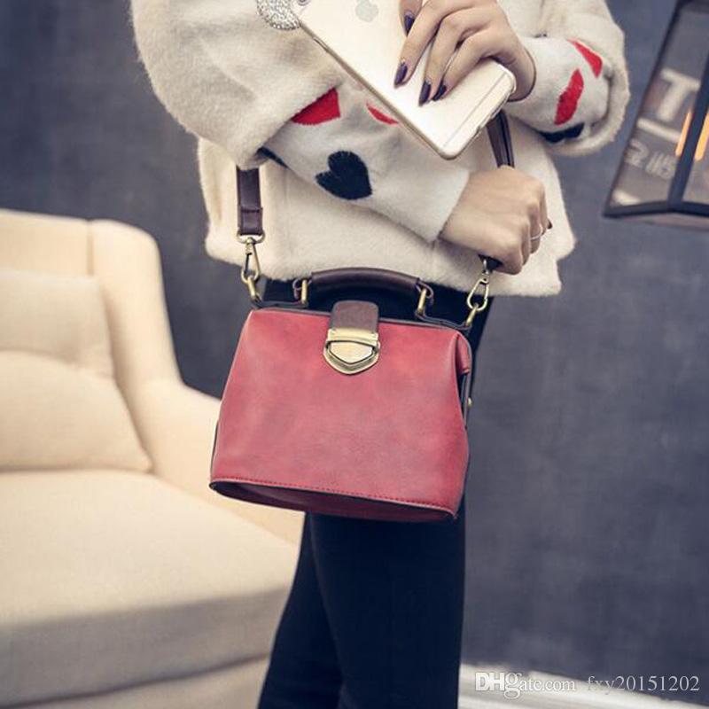 New Fashional antico medico borse a spalla singola Borsa Messenger Borse in stile giapponese e coreano borsa a tracolla stile vintage le donne
