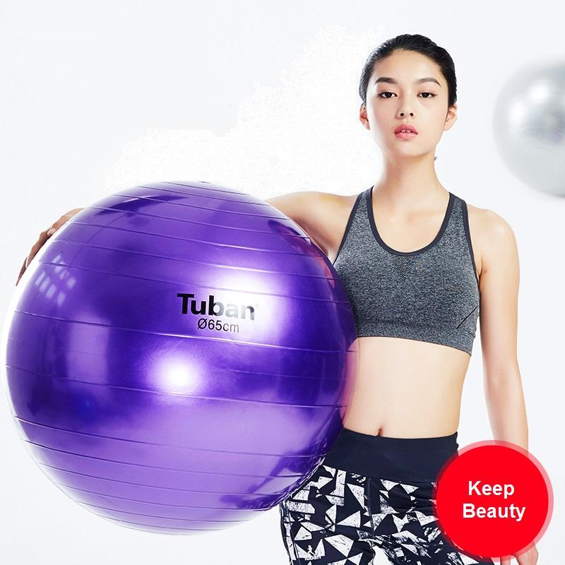 Yoga Ball 65cm Colorful Thickening Popping Proof For Lose Weight Fitness  Muscle Practice Keep Fit Gym Exercise Buy Yoga Ball Core Ball From Emmanue d6ad8ad69a596