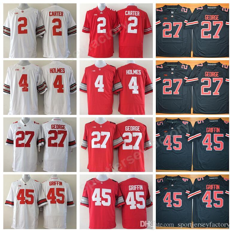 premium selection 04fd4 8bbcf discount code for youth ohio state buckeyes 45 archie ...