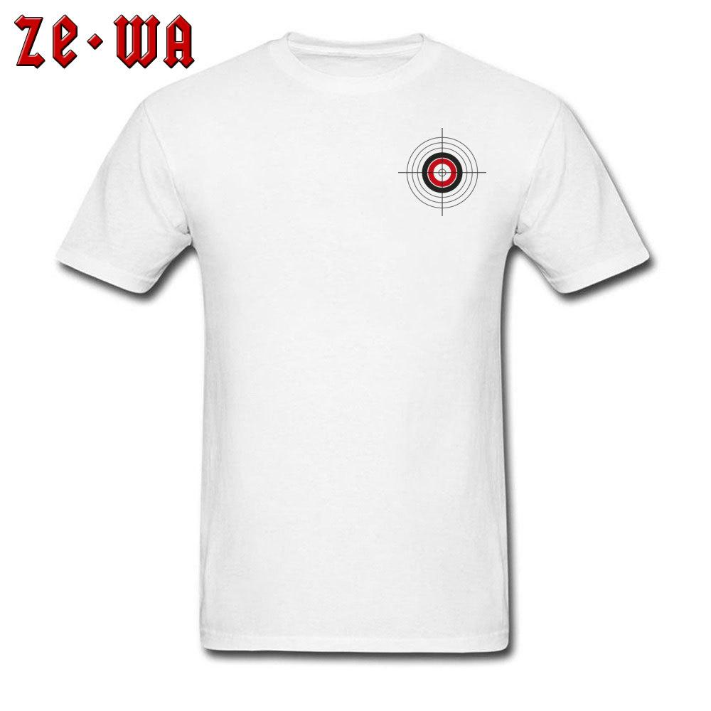 f92d818f6 Target T Shirt Aim Game T Shirt Men Simple Funky Clothes Cotton White Tops  O Neck Casual Summer Tshirt Boyfriend Gift Clothes Customised T Shirts  Ladies T ...