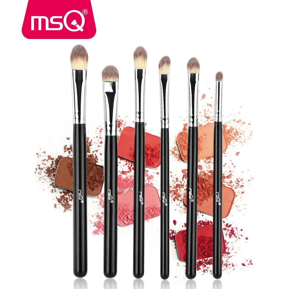 Großhandel Msq 6 Stücke Lidschatten Make Up Pinsel Set