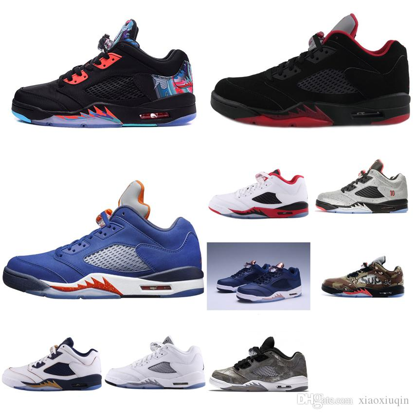 2019 Womens 5s Low Basketball Shoes Floral Black Red White USA Gold Navy  Olympic Boys Girls Youth Kids Aj5 Retro Sneakers Tennis J5 With Box From  Xiaoxiuqin ... 9d3f558aa