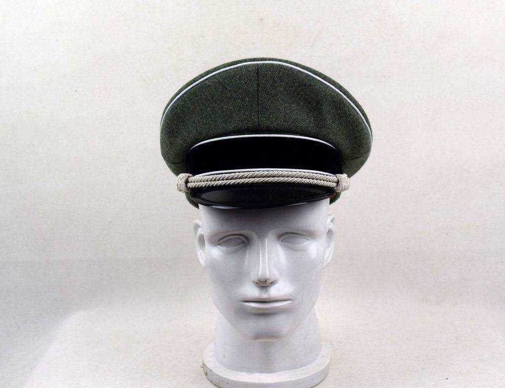 078010601b4 2019 WWII German Army Elite M36 Officer Visor CAP Officer WOOL FIELD HAT  World Store From Youtuo