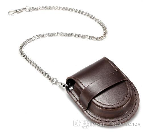 Brand New Brown Mini Watch Mechanical Table Accessories Pu Leather
