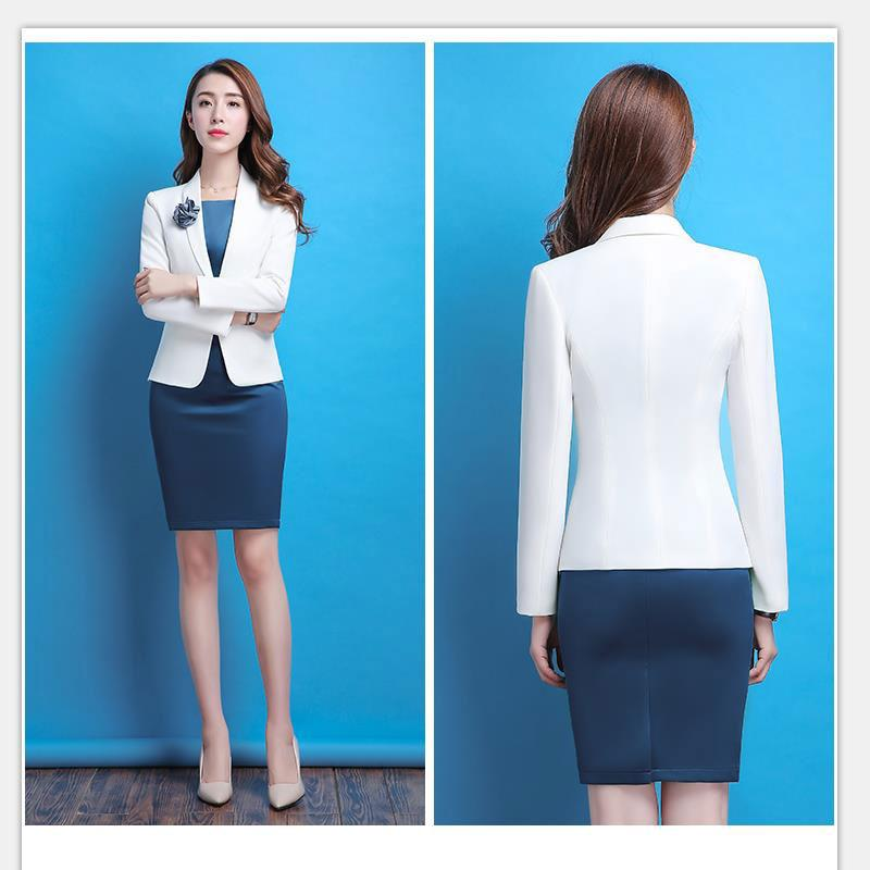 Spring And Autumn New Hot Hot Women S Dress Work Suit Full Set
