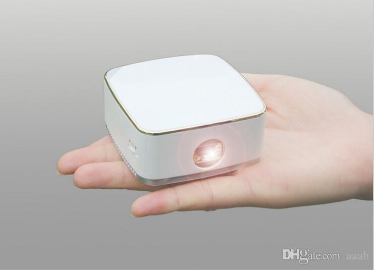 Wejoy Mini Projecteur LED DL-S8 + Android 7.1 Système Pocket Portable Pico Projecteurs de téléphone portable DLP Beamer WiFi BT Home Cinéma