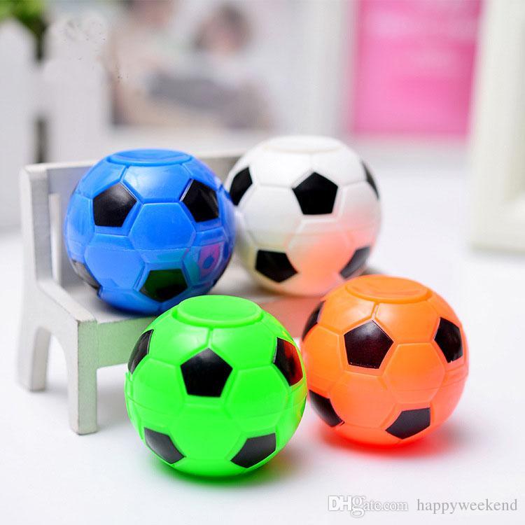 Novo Futebol Fidget Spinner Futebol Basquete Mão Spinner Cube Anti Stress Desktop Bola Brinquedo Do Presente Do Bebê No Atock