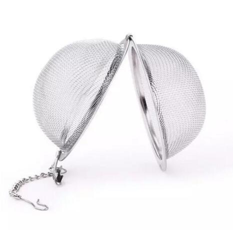 4.5cm Tea Infuser 304 Stainless Steel Tea Pot Infuser Sphere Mesh Tea Strainer Ball Good Quality Filter Ball