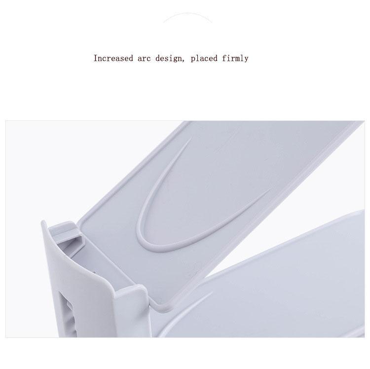 Shoe Slots Organizer - Adjustable Storage Rack - Closet Space Saver (100 Pack) 3 Color Select LSKA0010