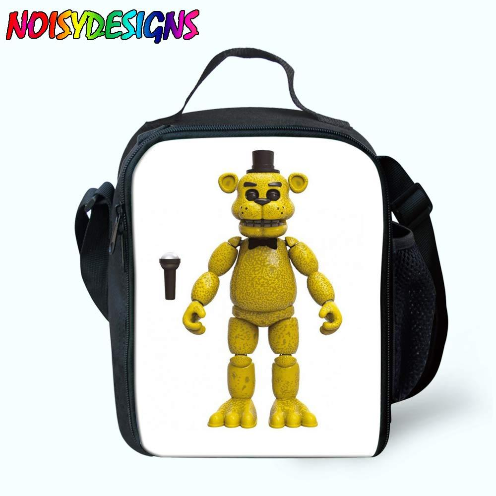 Five Nights At Freddys Lunch Bag Thermal Cooler Girls Kids School