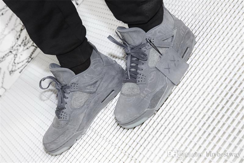 a827313415c8b1 2019 Stock KAWS XX Kaws Cool Grey White Black Glow Basketball Shoes Mens  Best Quality White Blue Black XZ29 From Buybestway