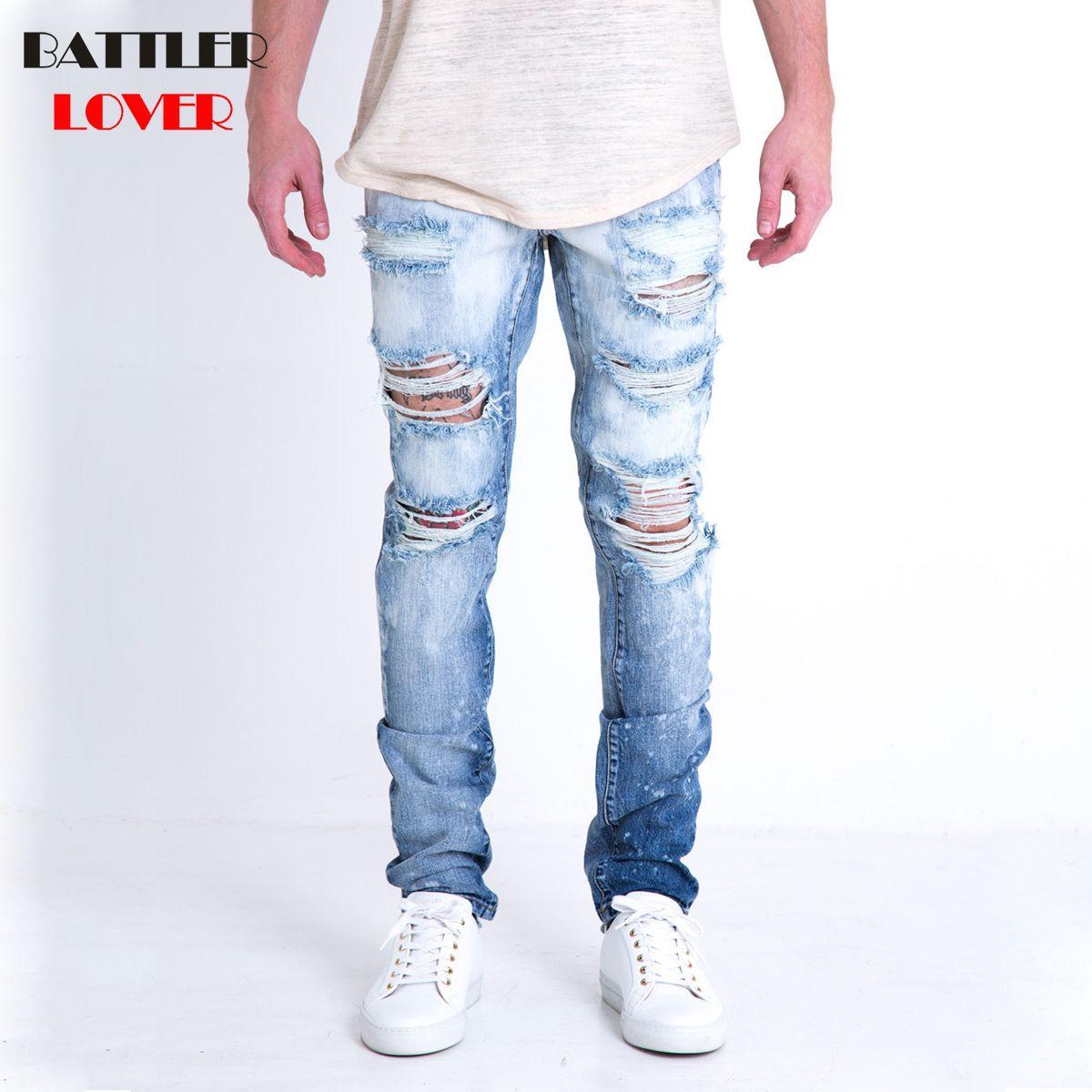 e8c1e0ade10dbd Großhandel Großhandel Motor Jeans Männer Angst Vor Gott Biker Jeans Denim  Hosen Mens Hip Hop Zerrissene Jeans Hose Männlichen Casual Luxusmarke Hosen  Von ...