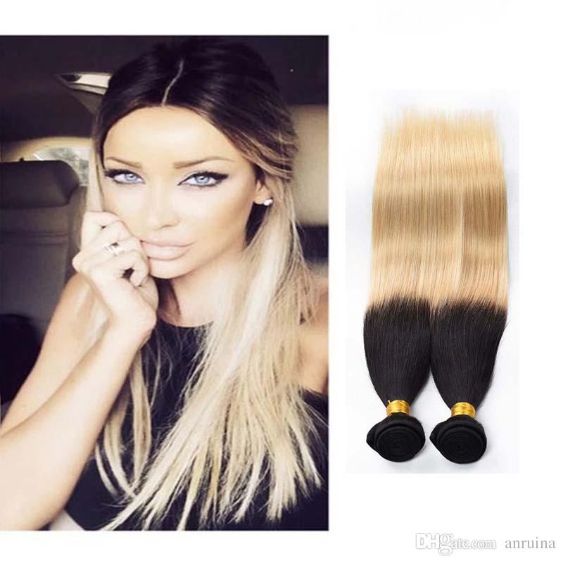 8a Brazilian Virgin Remy Hair Extensions Straight 1b613 Human Hair