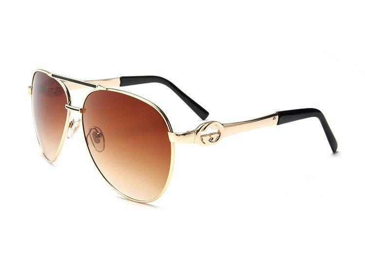 7419386420 Fashion Luxury Mens Sunglasses Brand Designer Flat Top Lens Sun Glasses For  Women Gold Male Sunglass Driving Big Metal Man Glass Frames Online  Eyeglasses ...