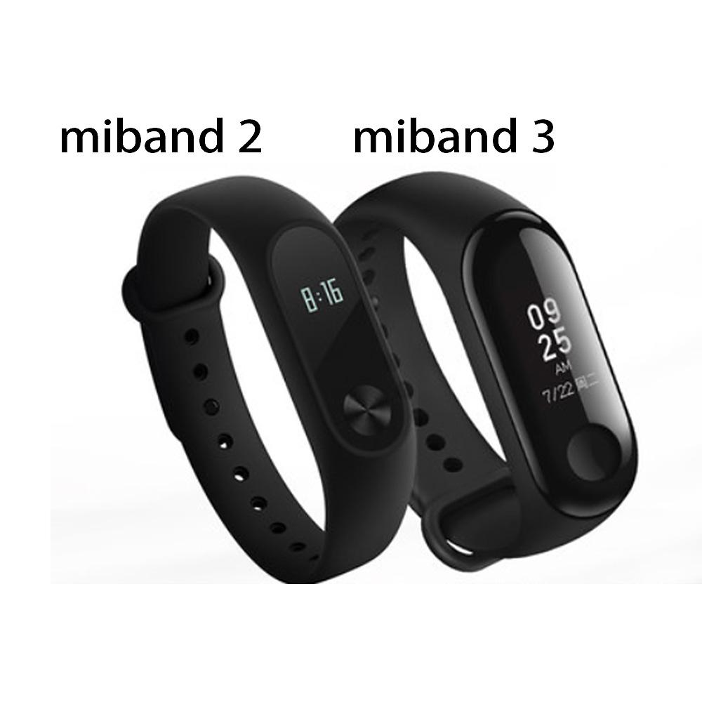 001720d4b Xiaomi Mi Band 2 3 Miband 2 3 Fitness Tracker Band Instant Message 5ATM  Waterproof OLED Touch Screen Smart Watch For Mi Bracelets Silicone Concert  ...
