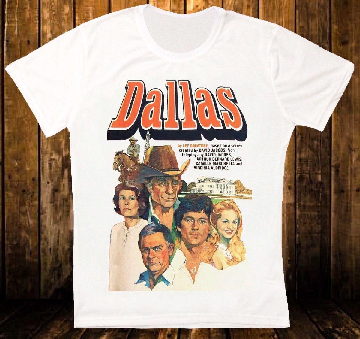 Dallas Classic Tv Series 80s Jr Retro Vintage Hipster Unisex T