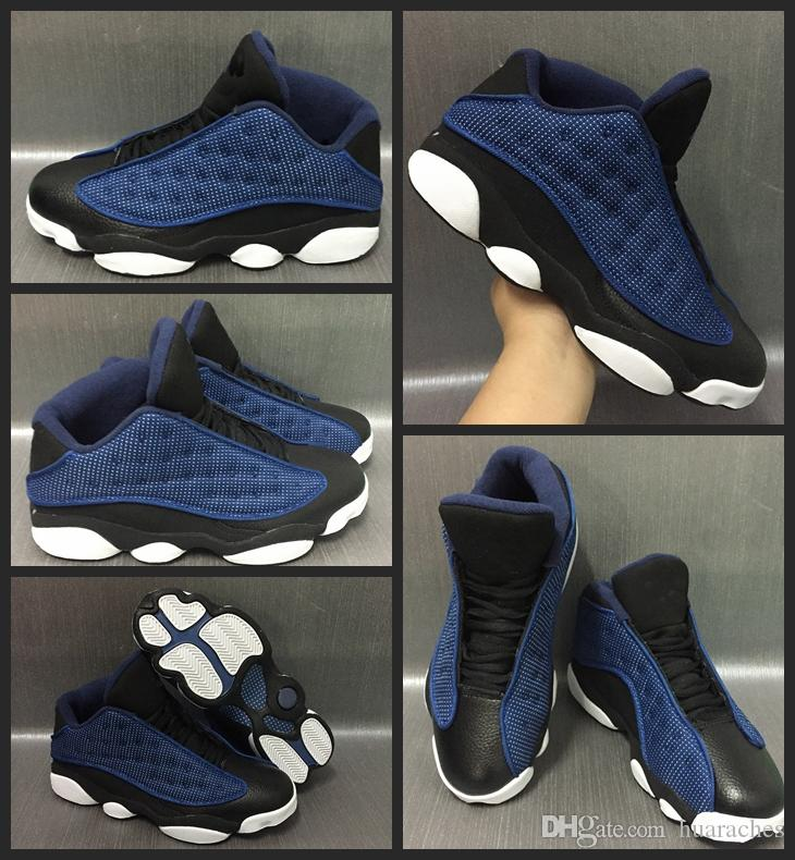f4deba3300cb Cheap 2017 New Air Retro 13 Basketball Shoes Dark Blue Men Outdoor  Authentic Sneakers Air Retros Shoes 13s XIII Running Shoes Size US 8-13