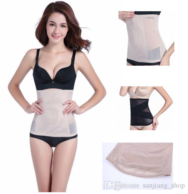 0a8d3fc92f0ca 2019 Invisible Body Shaper Belt Tummy Trimmer Waist Trainer Stomach Control  Girdle Slimming Belts Light Thin Bellyband Waist Cincher From  Sanjiang shop