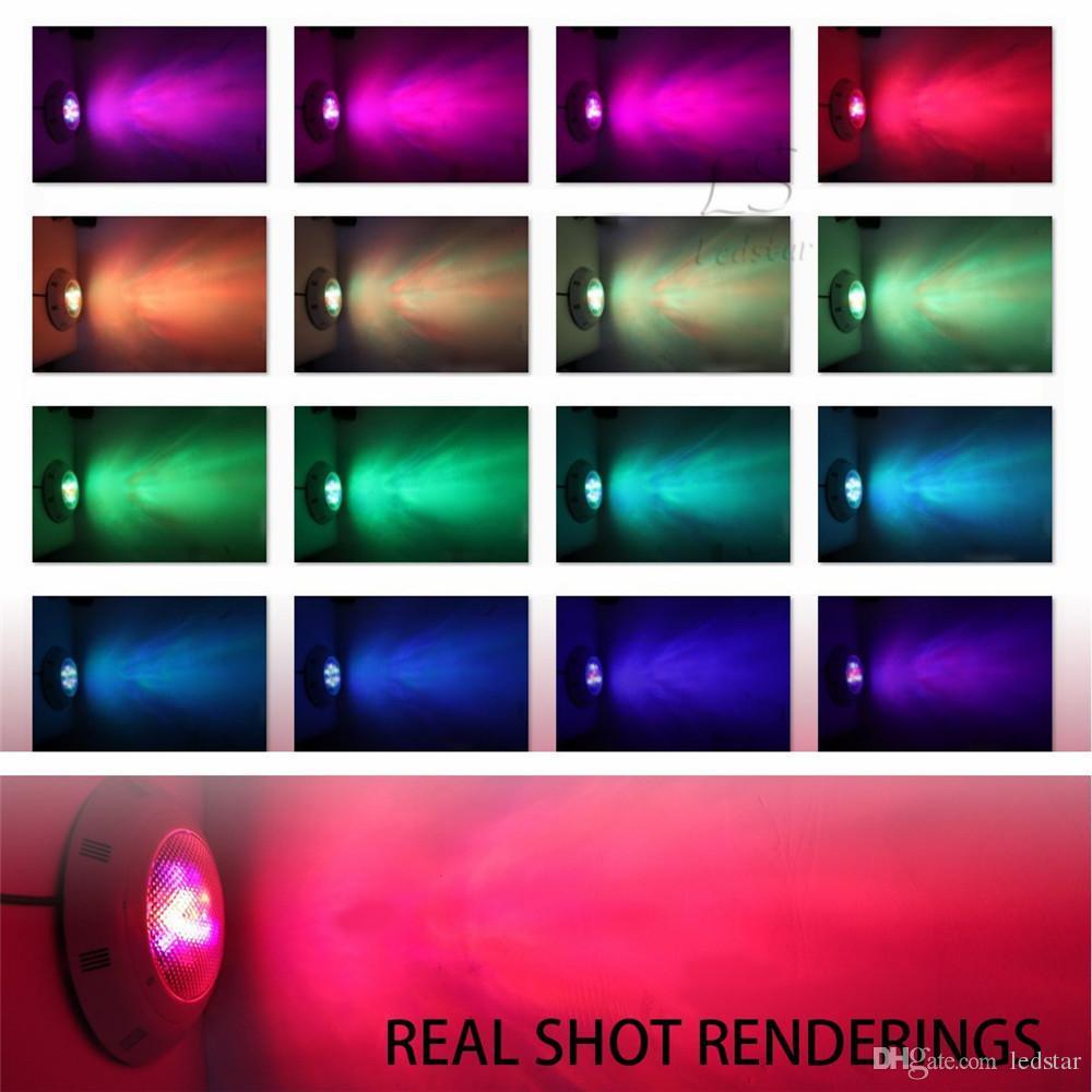 9 W RGB Led Yüzme Havuzu Ampul AC 12 V Sualtı Işıkları Çeşmeler Led 18 W 25 W 40 W Su Geçirmez IP68 Led Havuz Işık + Uzaktan Kumanda
