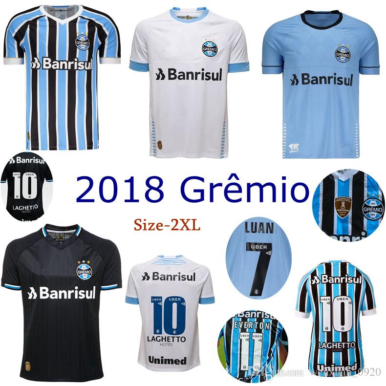 e942a90f647 2019 2018 Gremio Soccer Jersey Home Away 3rd FERNANDINHO LUAN GEROMEL LUCAS  ARTHUR 18 19 Thai Quality Brazil League Football Shirts From Wenxuan 0920