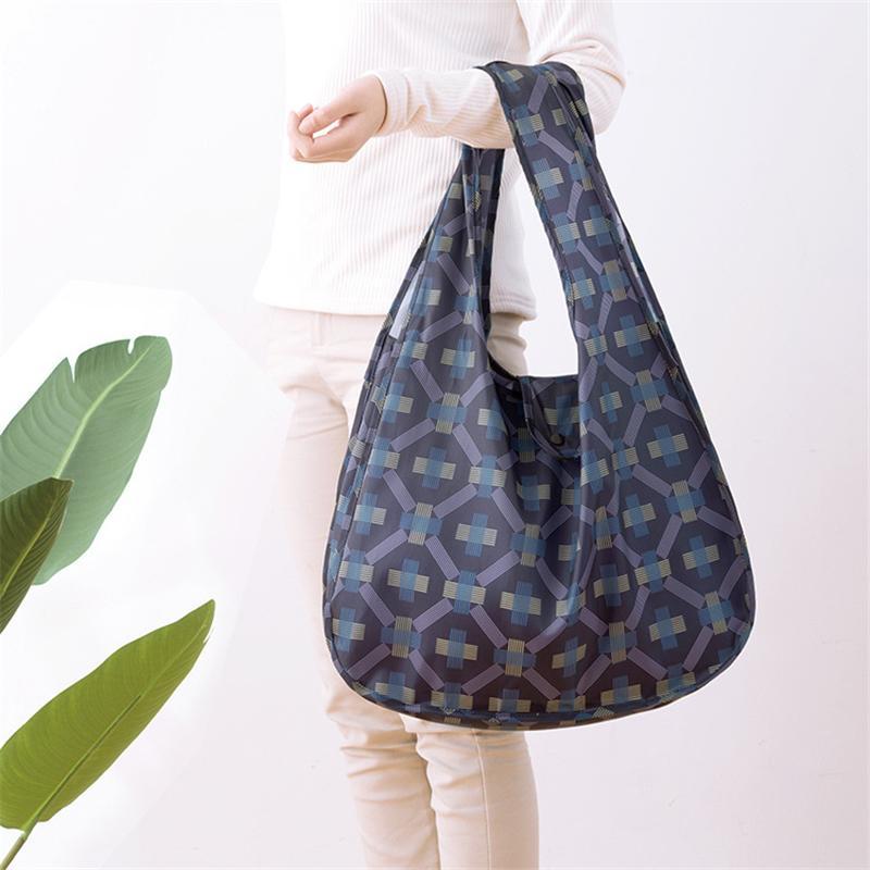 PACGOTH 210D Polyester Umweltschutz Supermarkt Einkaufstaschen Faltbare Enviromental Tote Specoal Zweck Taschen