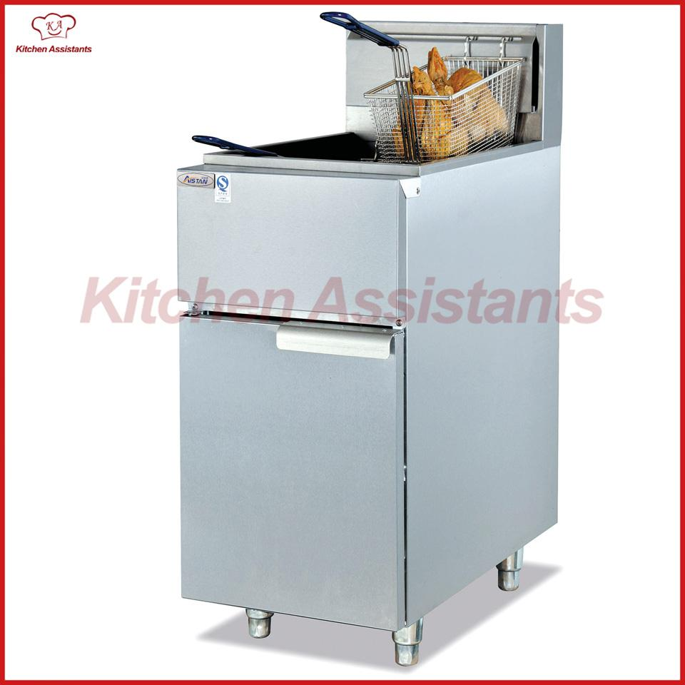 GF23G Vertical Gas Temperature-controlled Commercial Chips KFC Large ...