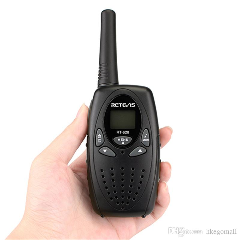 Retevis RT628 Walkie Talkie Mini Crianças PMR446 PMR FRS Rádio PMR446 8 / 22CH VOX PTT Display LCD Crianças 2 Way Rádio Transceptor