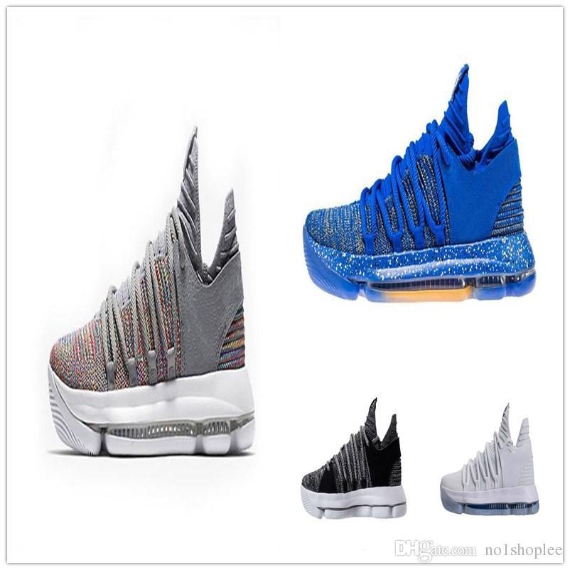 separation shoes 9c459 9141b ... big boys youth kd 9 flyknit oreo black white 9e6bf 416e0  uk 2018 kd 10  multi color oreo bhm igloo men basketball shoes kd 10 elite mid