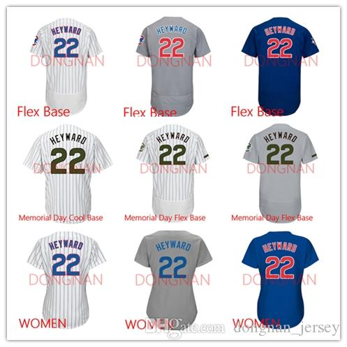 on sale 08cb1 1ef3c 22 Jason Heyward Jersey Flex Base/Women/Memorial Day Cool Base/Memorial Day  Flex Base jersey