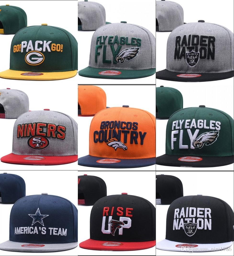 050381ac1 Wholesale College Football Snapback Hats 2018 New Draft Cap 32 Teams ...
