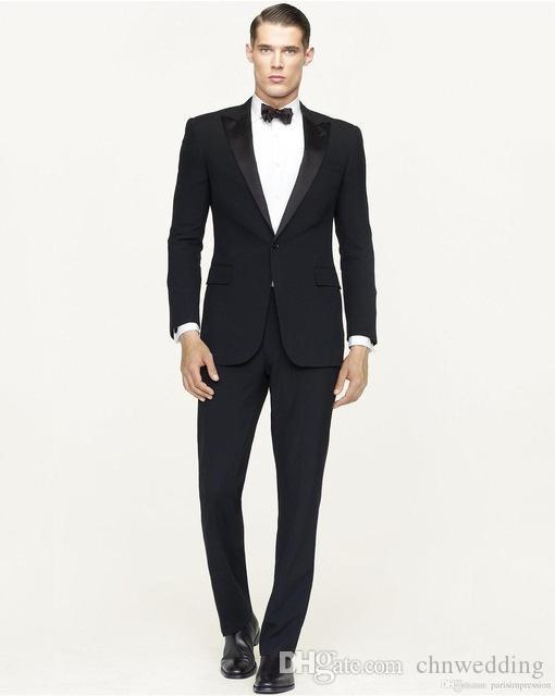 Custom Made Erkekler Pantolon ile Bir Botton 2018 Suits Kraliyet Mavi Sağdıç Damat Smokin İyi Adam Suit Erkekler Düğün Takım Elbise Slim Fit
