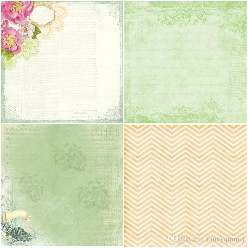 """DIY Album Photo Scrapbooking set Decorative Papers Lover For Ever Craft paper 6""""inch X 6"""" inch Single Side Printed"""