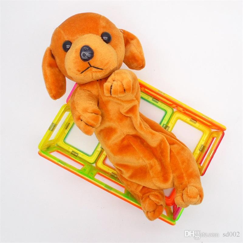 Haute capacité en peluche Pen sac de crayon mignon de chien Fermeture Éclair étudiant papeterie cadeau Beaucoup de styles 7 8SL C R