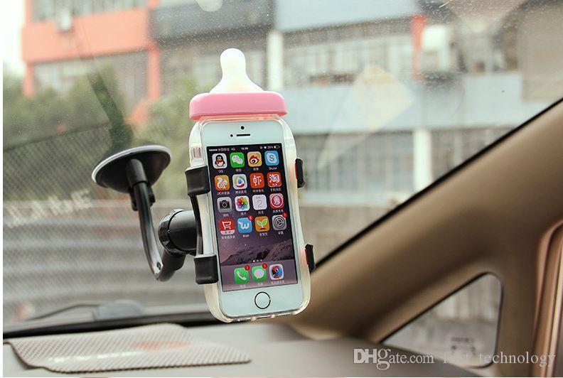 소니 삼성 유연한 휴대 전화 홀더에 대한 아이폰 6 기가 플러스 SE 스탠드 지원에 대한 보편적 인 차 홀더 휴대 전화 홀더
