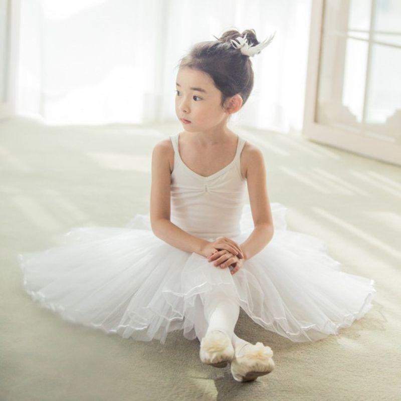 Acheter Enfant Jupe Justaucorps Filles Gymnastique Danse Costumes Enfants  Bracelet Long Tulle Ballerine Robe Pour Enfants Ballet Infantil Menina De   28.47 ... e9abe98e0ac