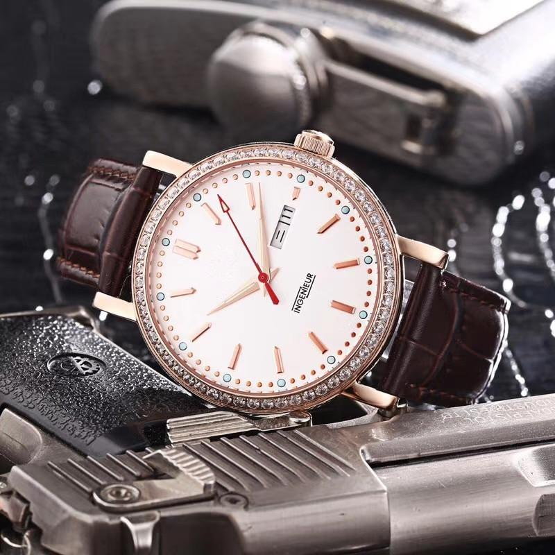 3107ff5bf16 ICW Luxury Watch Mens Automatic Watches Famous Brand Day Date ...